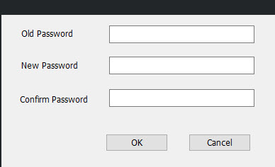 Password Setup